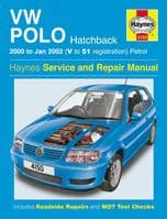 Haynes 4150 Workshop Repair Manual VW Polo Hatchback 00 - 02